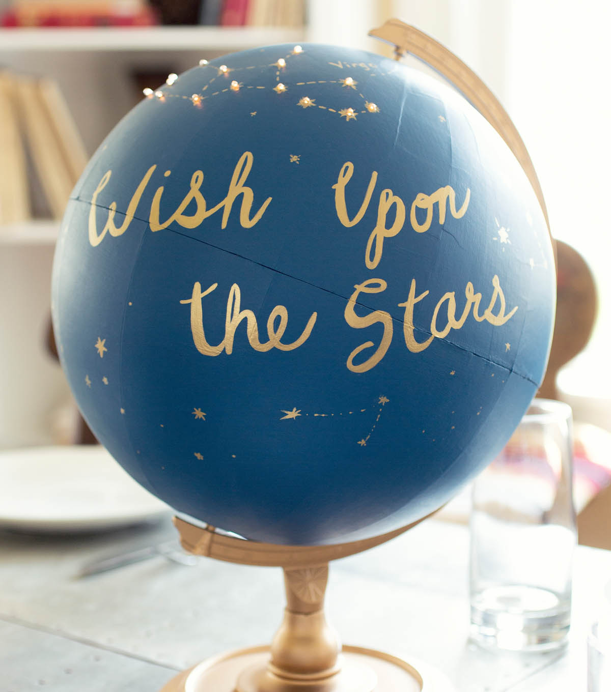 Upcycled Party Globe