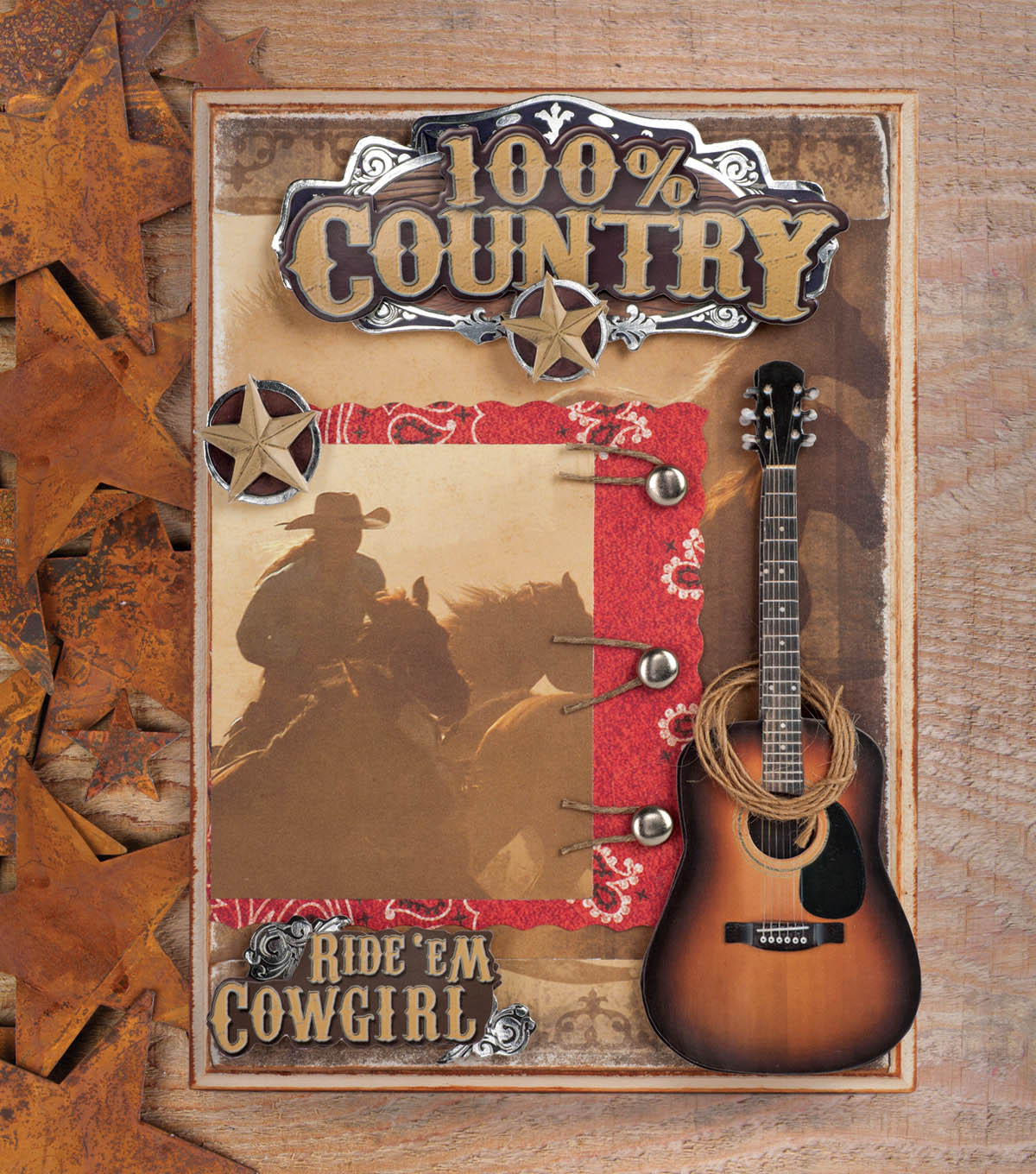 100% Country Plaque