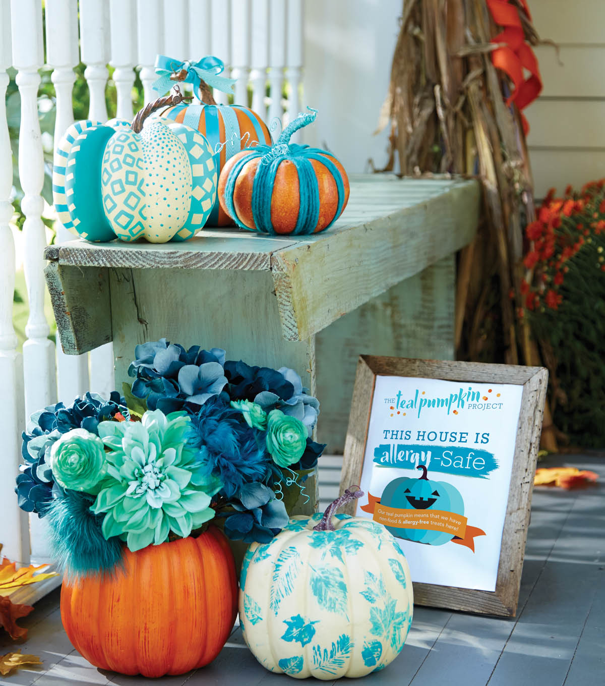 Teal Pumpkin DIY