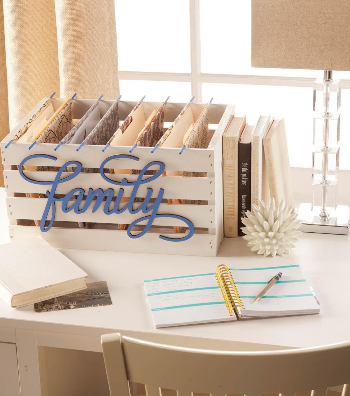 Jo Ann Fabrics And Crafts Mall: Fabric Organizer Crate