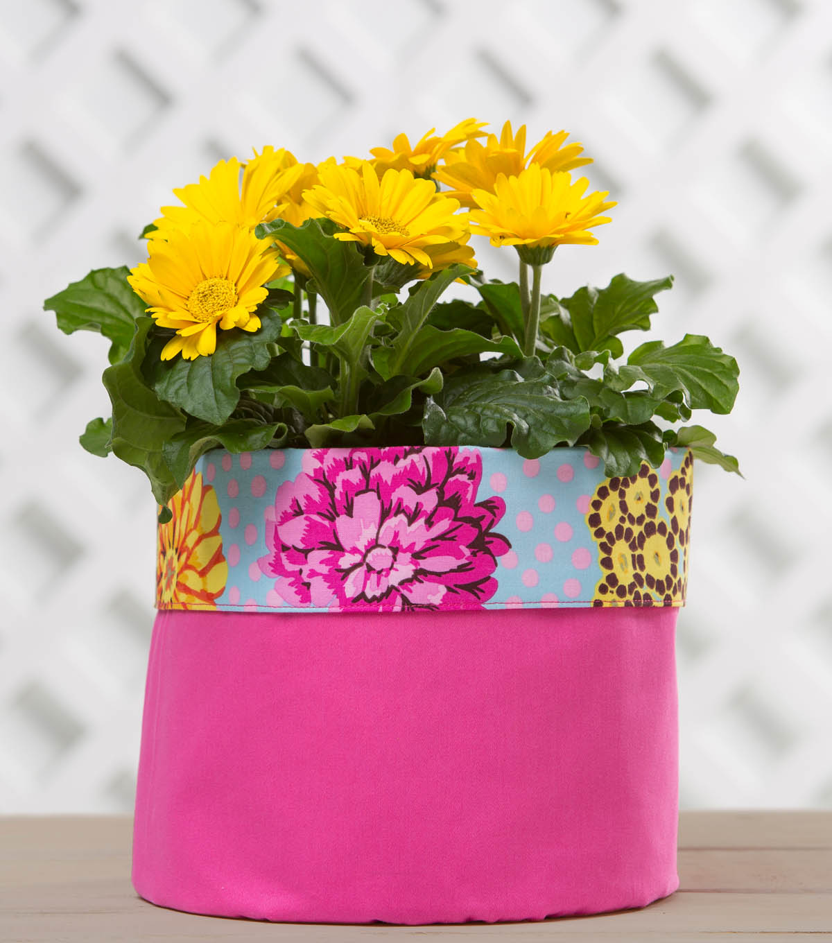 How To Make A Flower Pot Cover