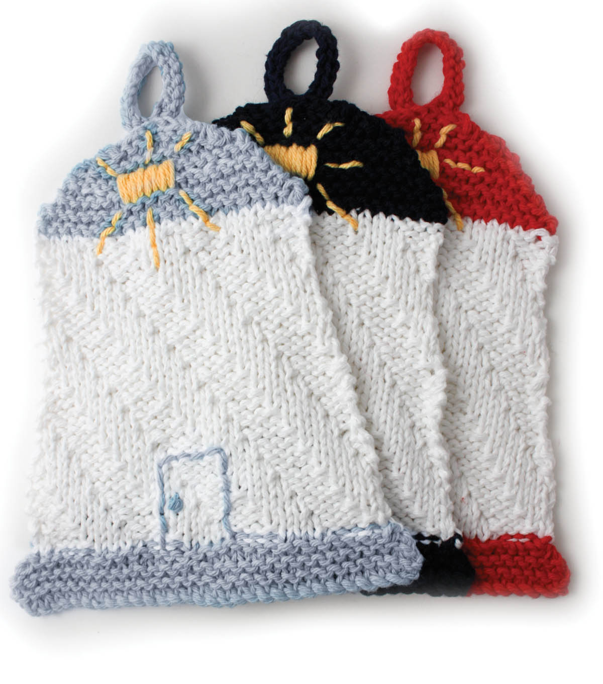 Lighthouse Dishcloth