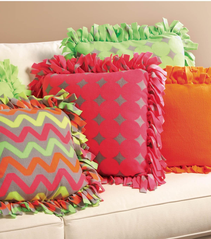 No Sew Fleece Pillow Covers: No Sew Fleece Pillows   JOANN,