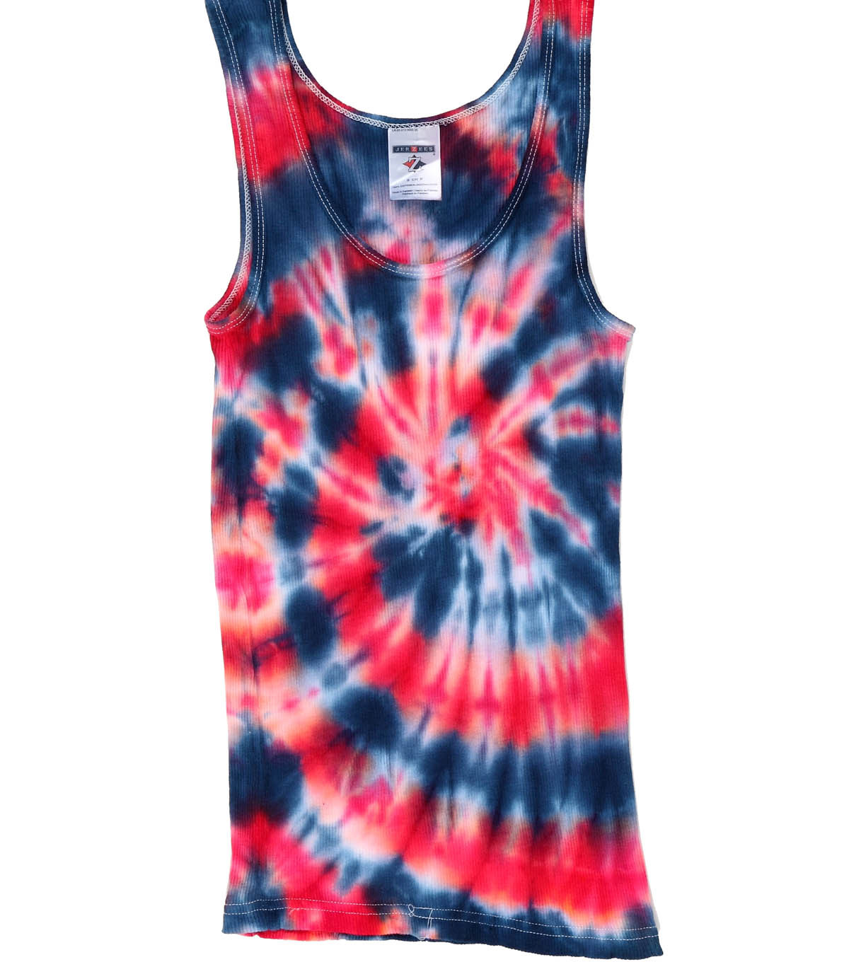 Psychedelic Spiral Tank Top