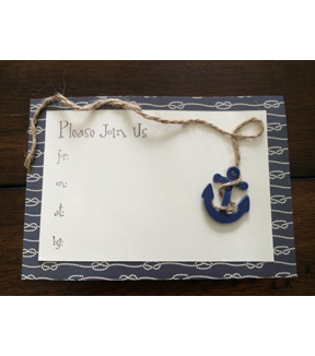 Nautical Summer Party Invitation