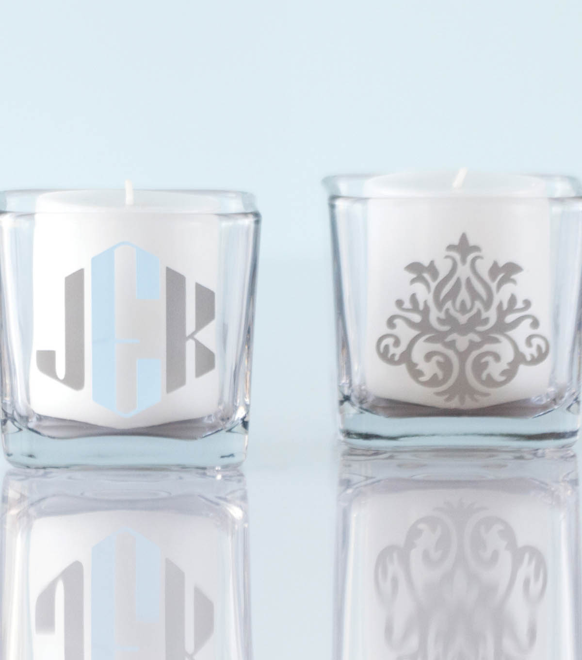 Monogram Votive Holder