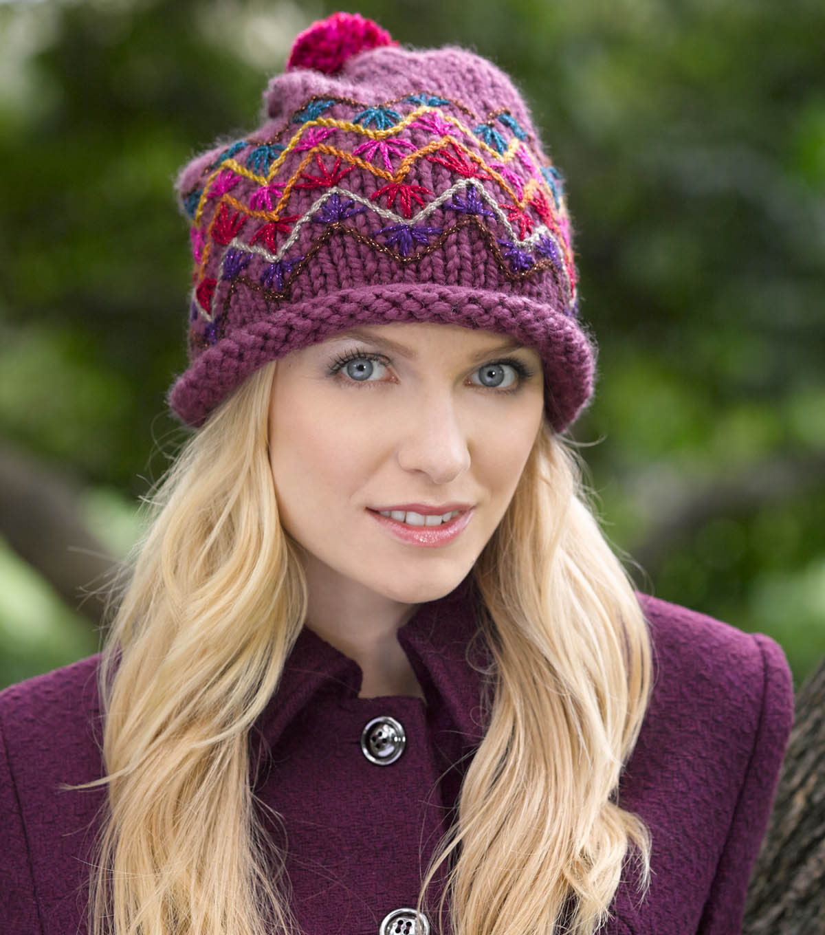 Embroidered Slouch Hat