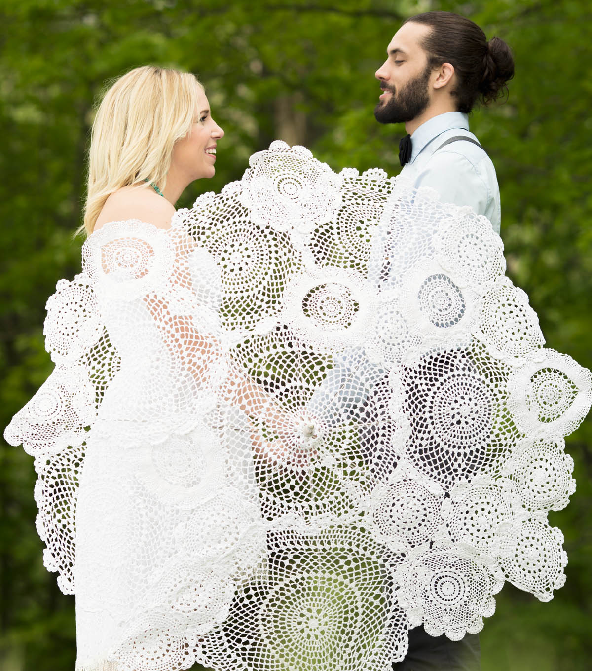 Doily Umbrella