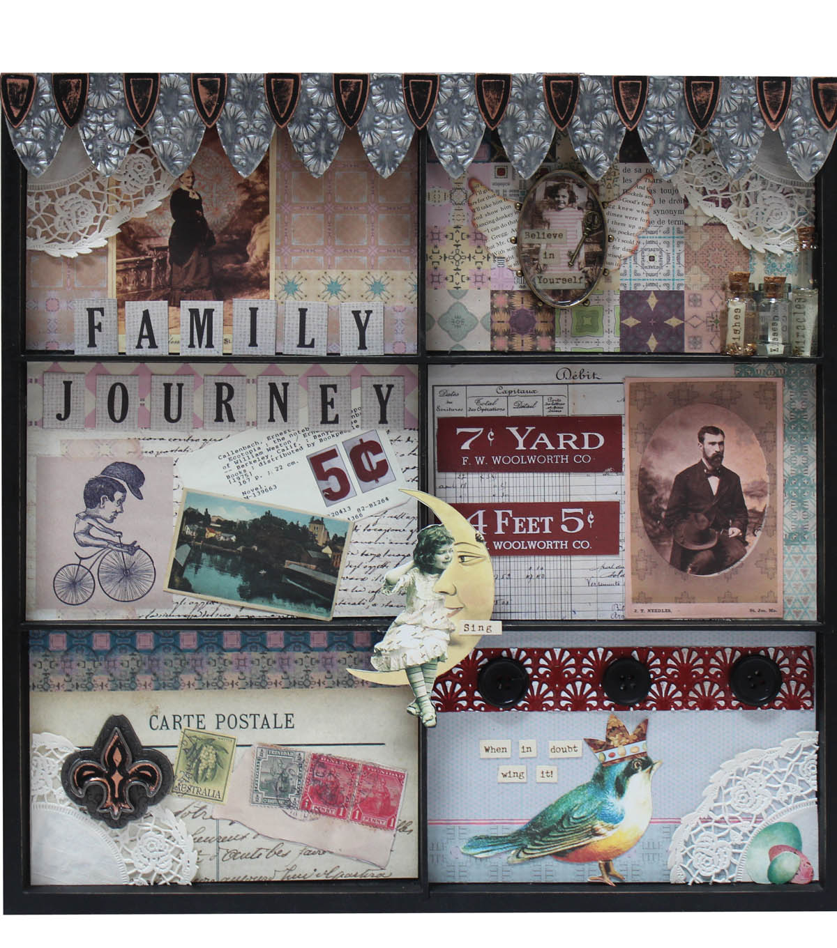 Family Journal Shadow Box & Family Journal Shadow Box | JOANN Aboutintivar.Com