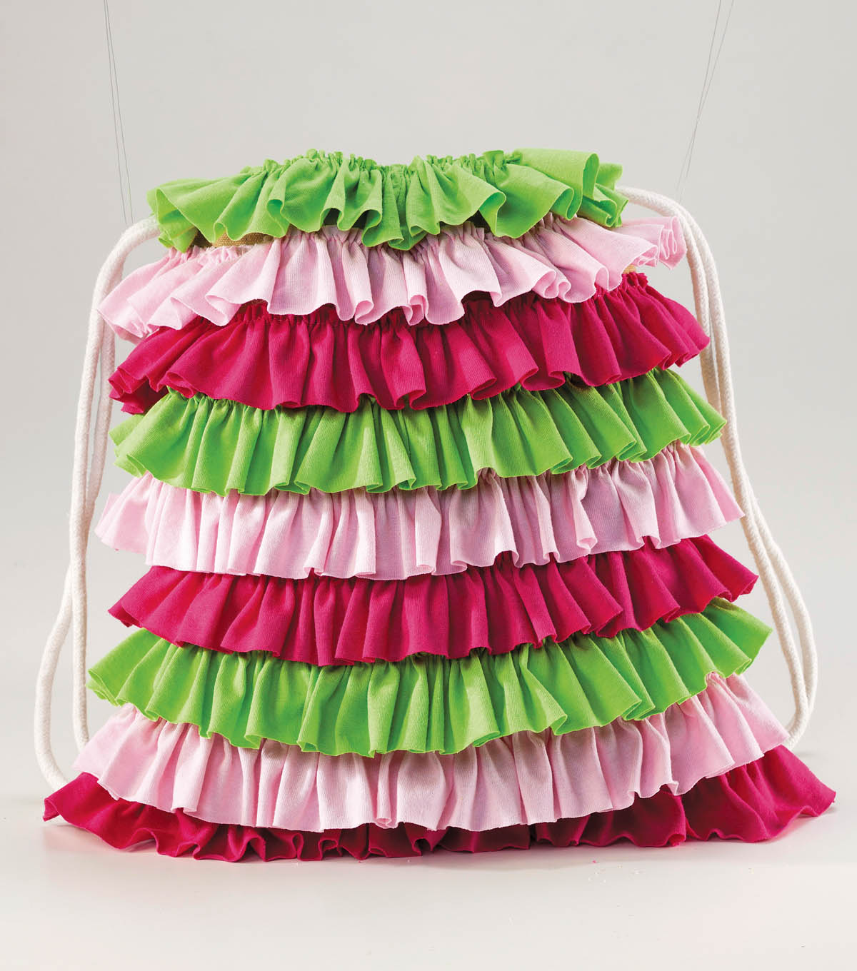 T-Shirt Ruffled Backpack