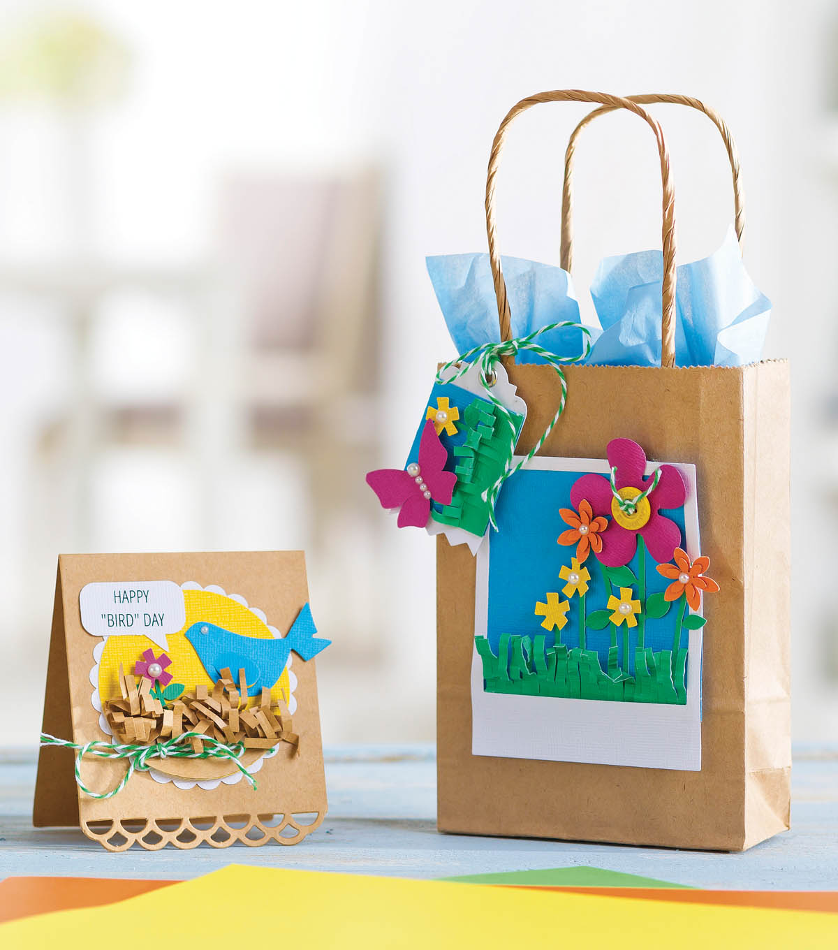 Spring Gift and Bag Tag