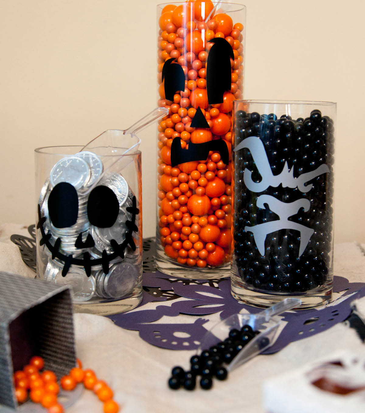 Halloween Candy Containers