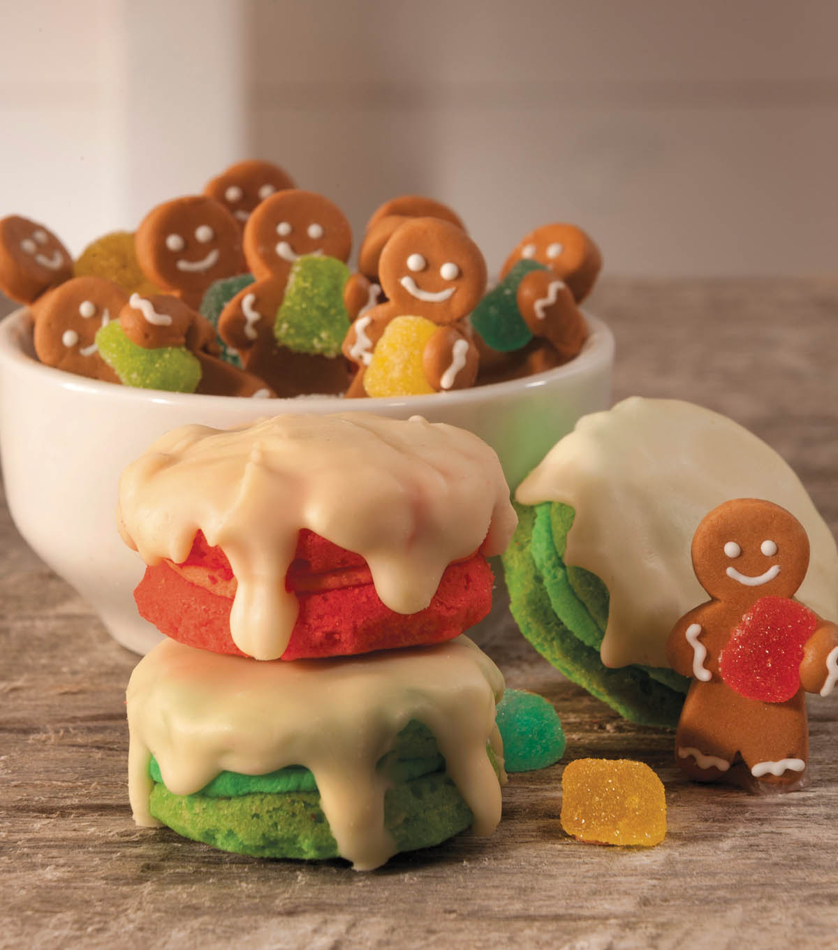 Gingerbread Man Cookie Tower
