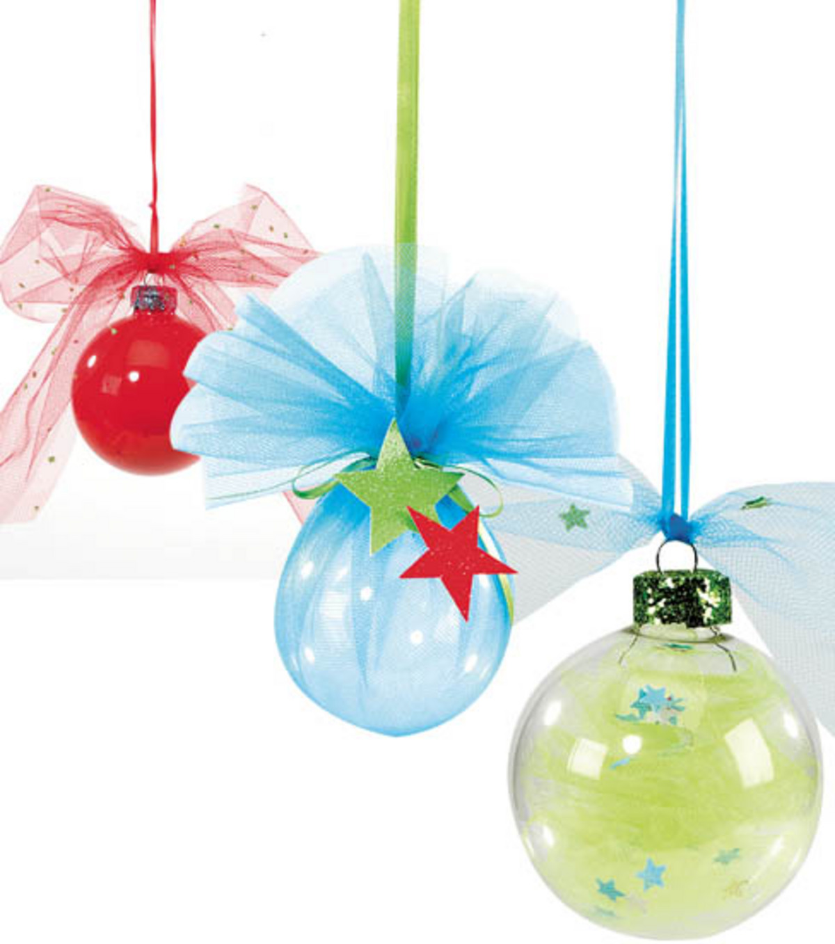 Tulle Ornaments