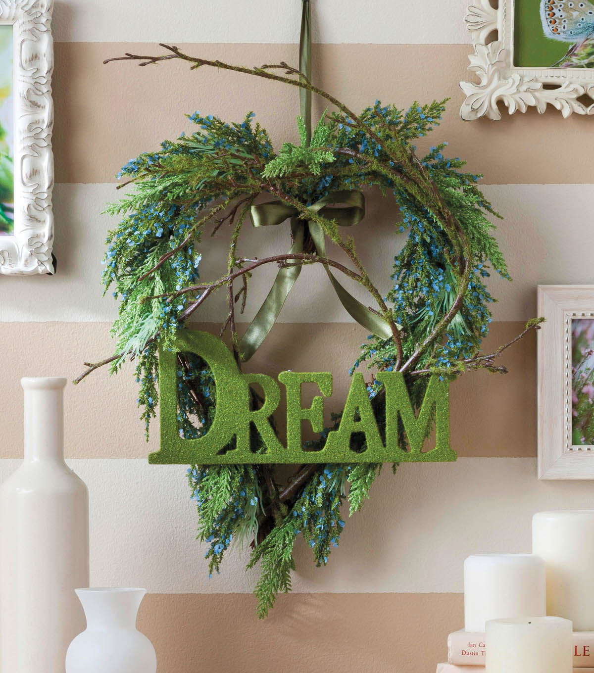 Dreams of the Heart Wreath