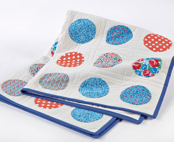 Quilted Dot Wall Hanging