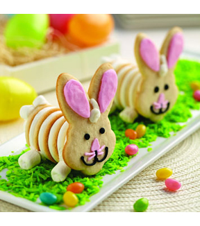 3-D Easter Bunny Cookie
