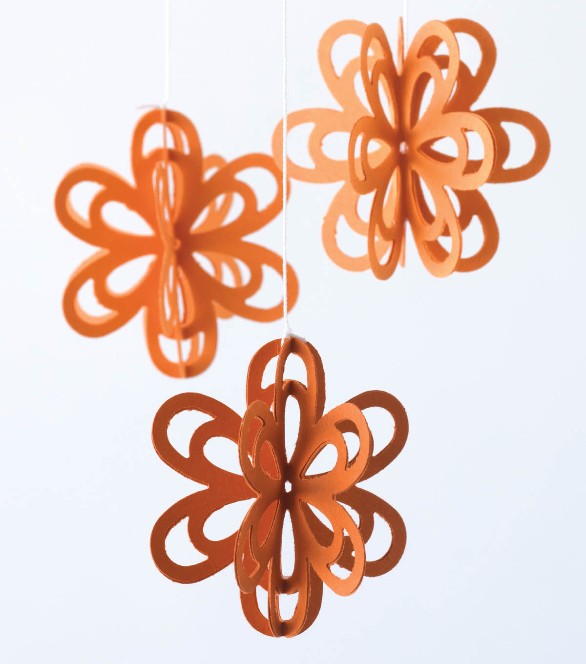 Hanging 3D Flowers