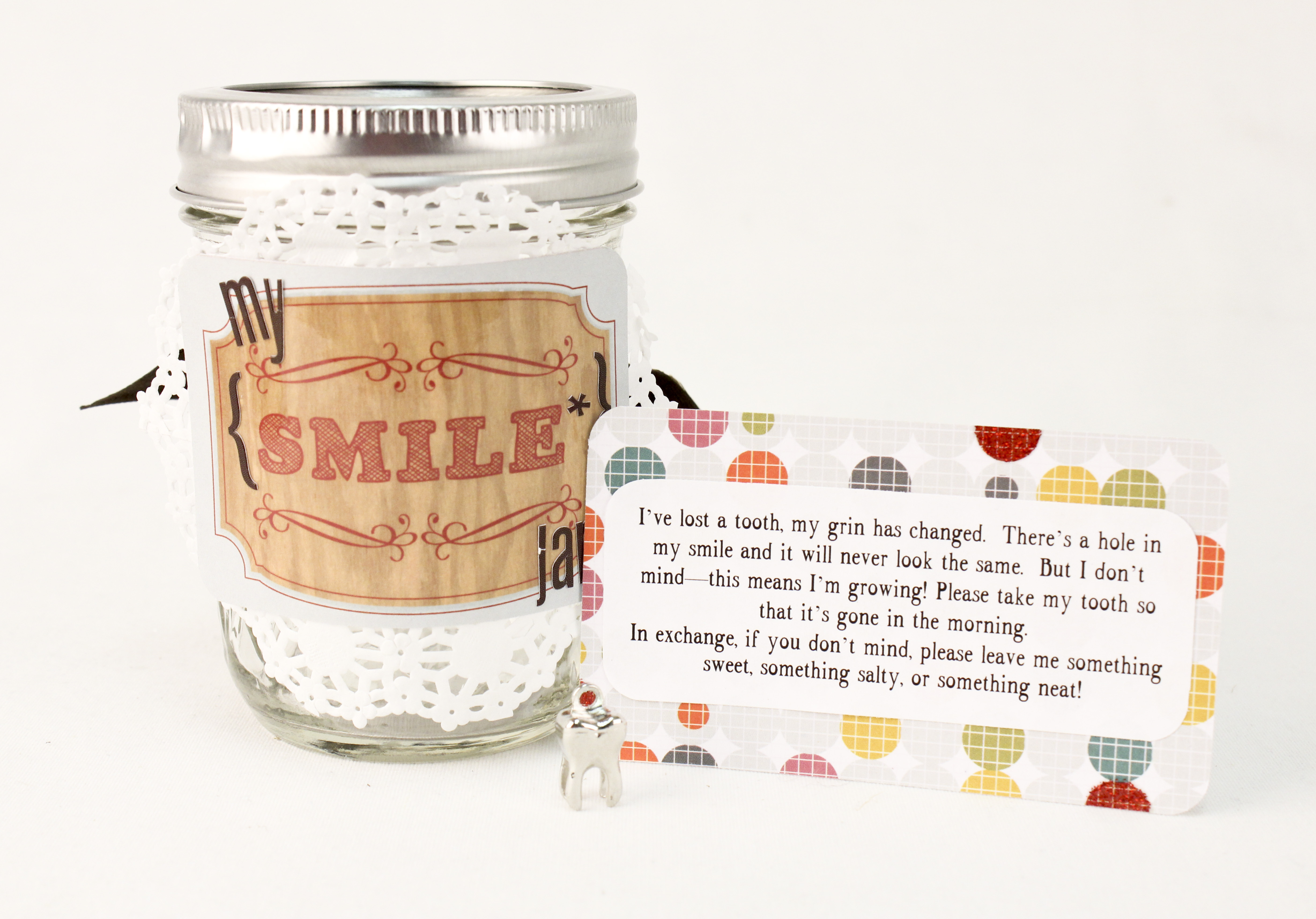 Tooth Fairy Jar