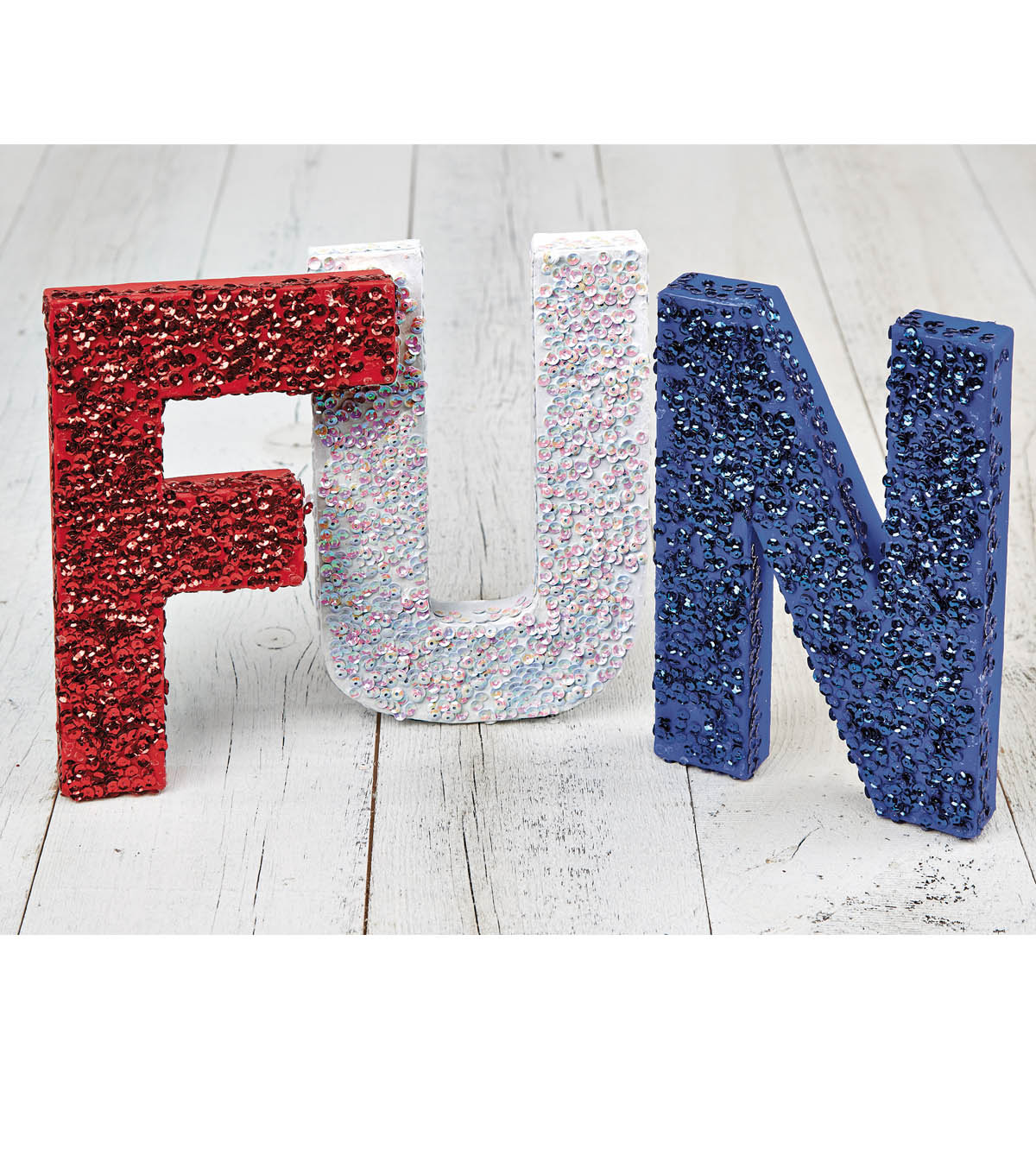 FUN Sequin Letters