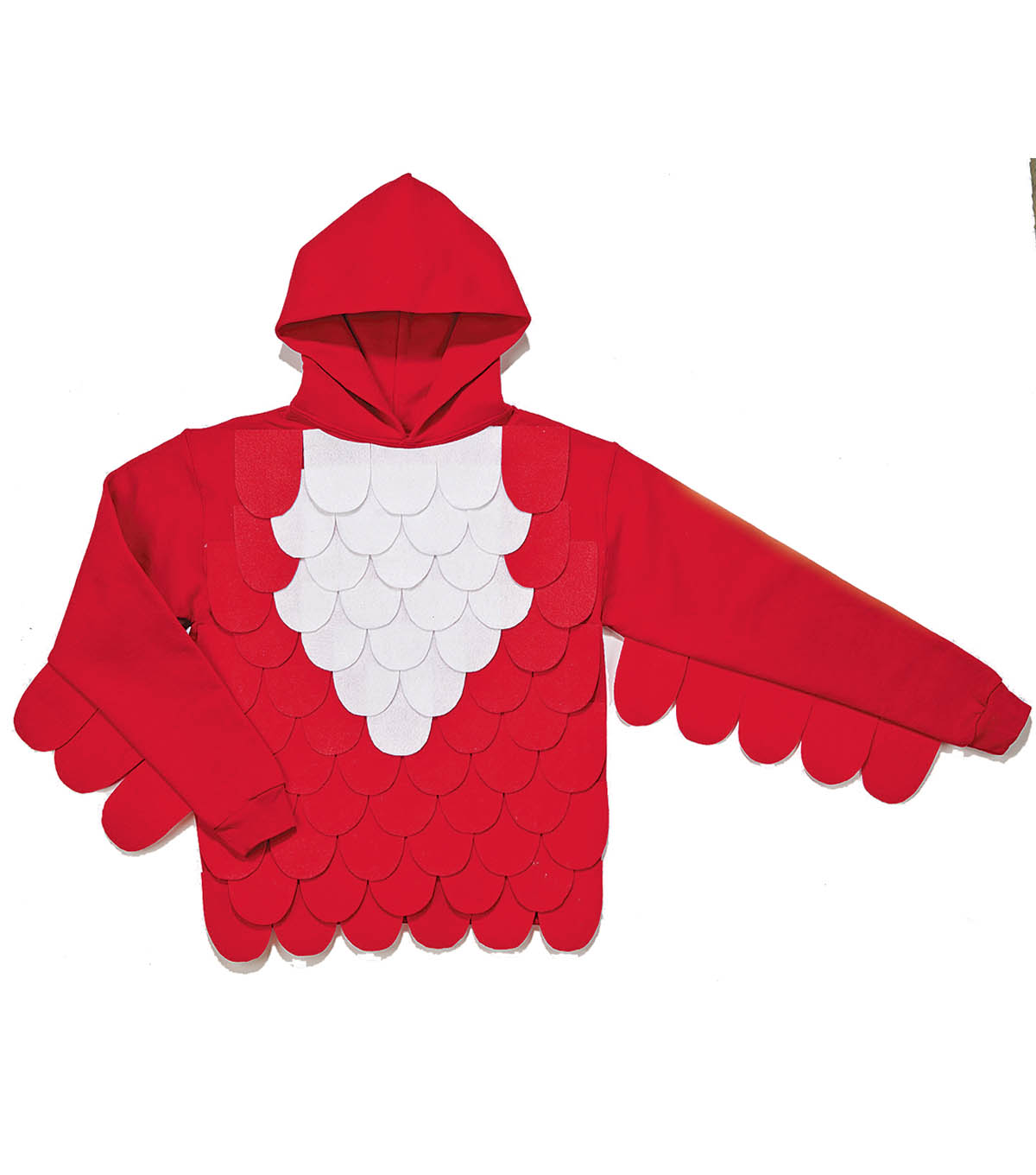 Red Bird Hooded Sweatshirt
