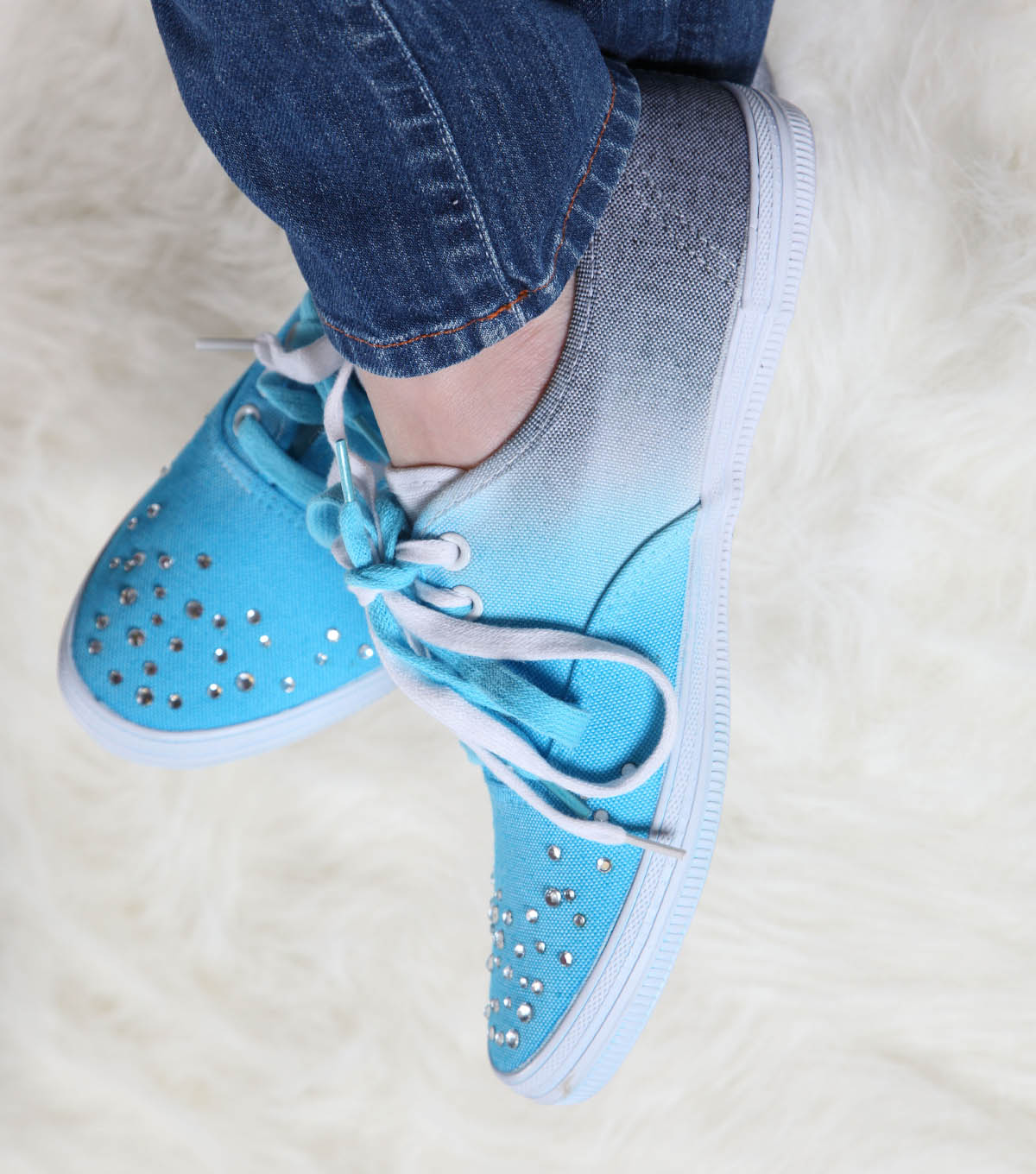 Steppin\u0027 Out Glitzy Sneakers