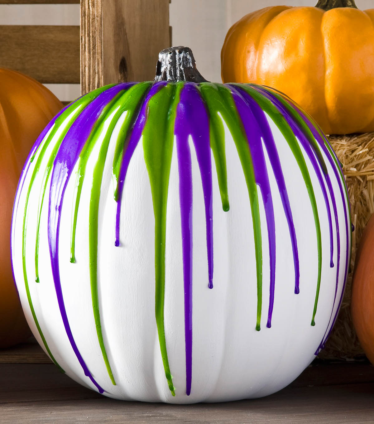 Color Dipping Pumpkin