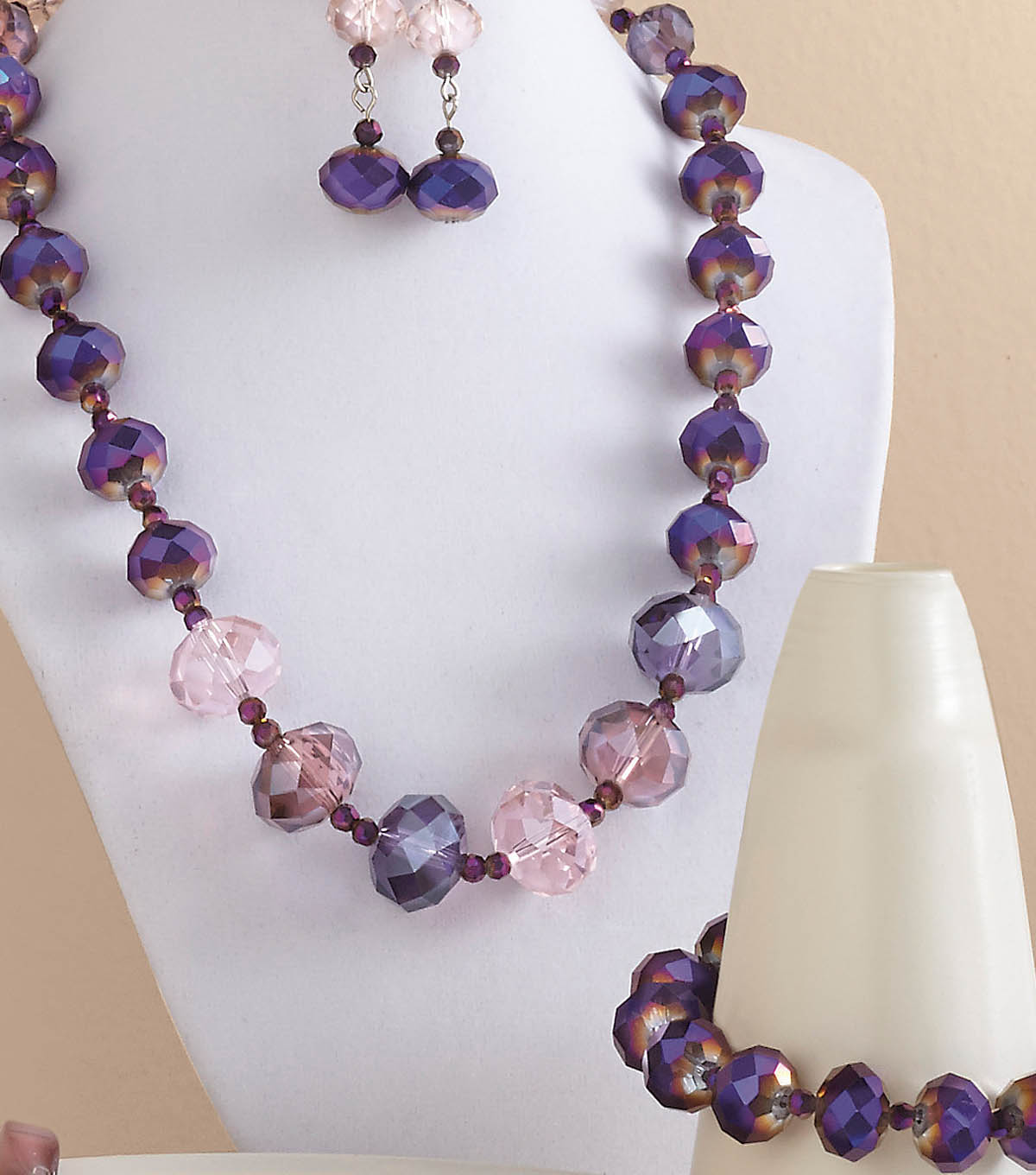 Amethyst & Pink Bliss Jewelry Set