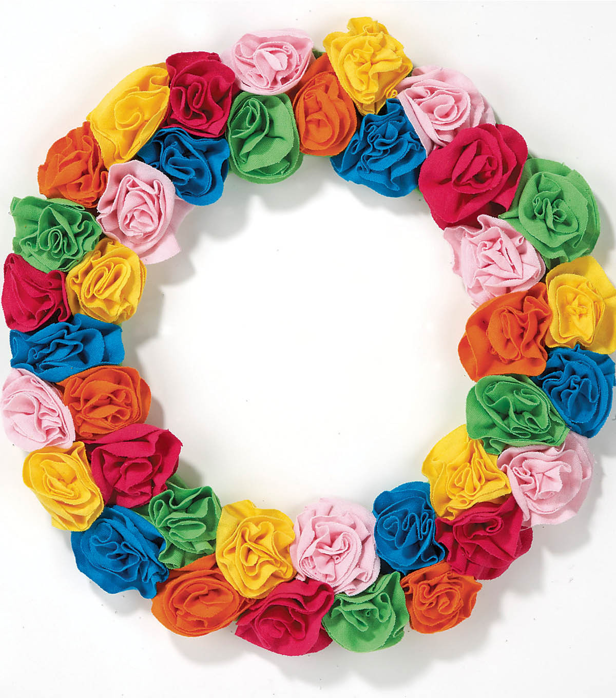 T-Shirt Flower Wreath