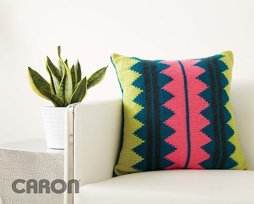 In Vivid Color Pillow