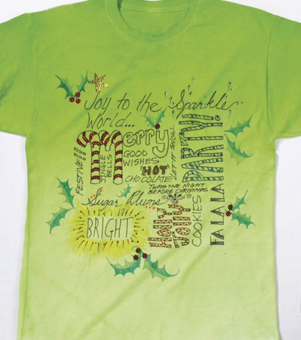 Joy to the World of Sparkle T-Shirt