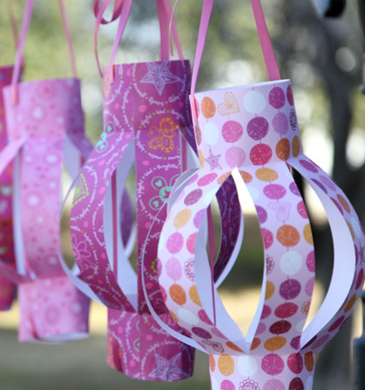 Party Time Paper Lanterns