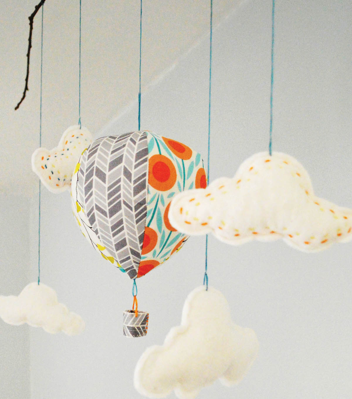 Hot Air Balloon Mobile