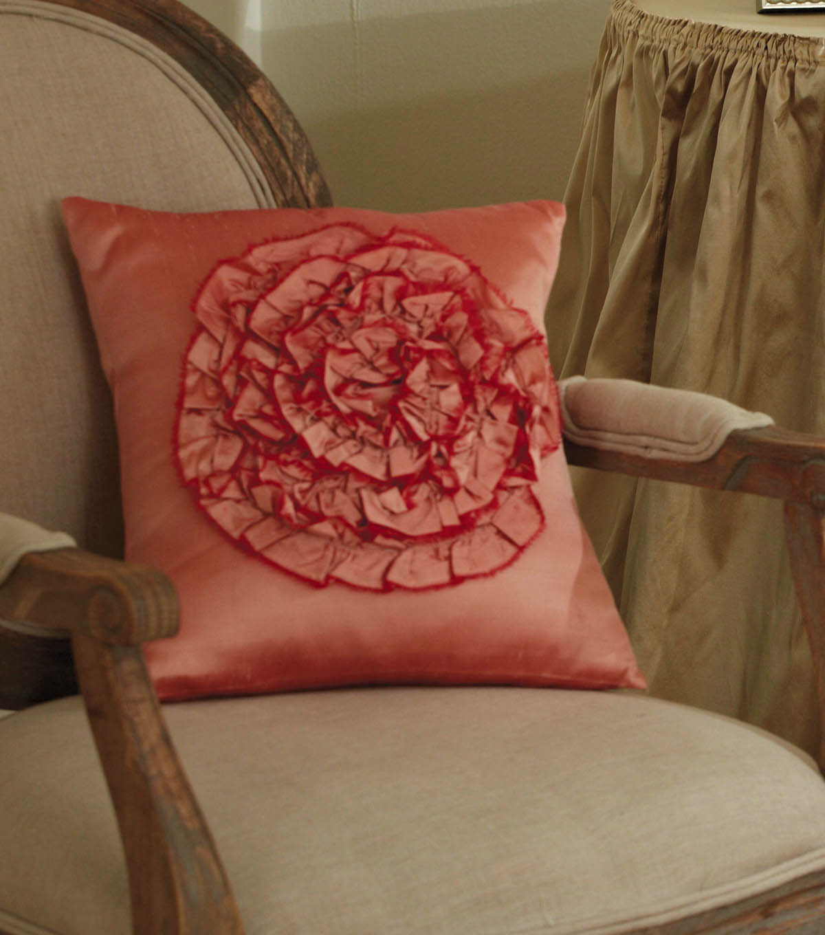 Spring Rose Pillow
