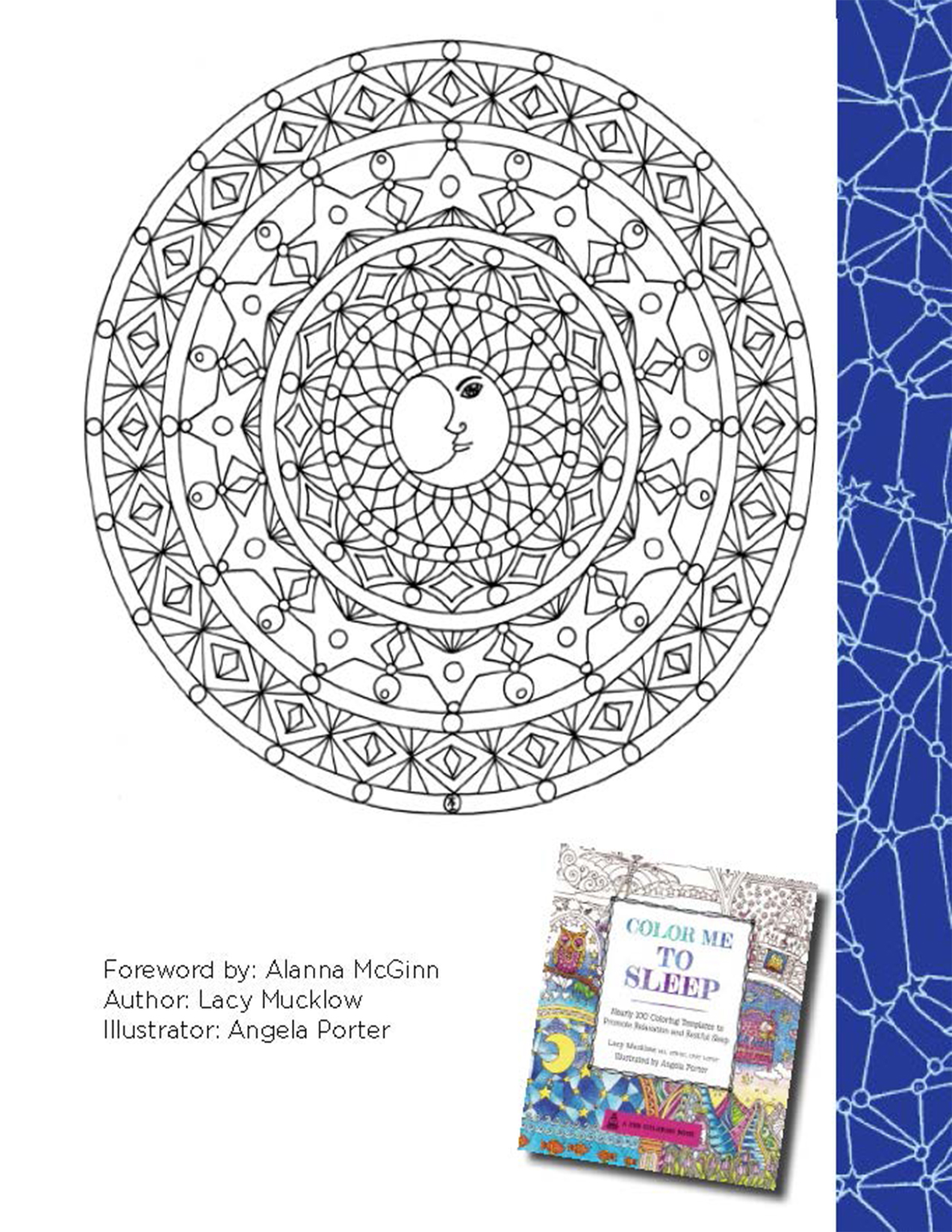 Color book for me - Color Me To Sleep Coloring Book Printables