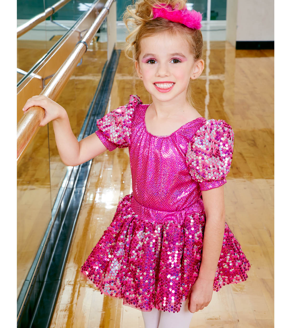 Pink Dance Costume and Headband
