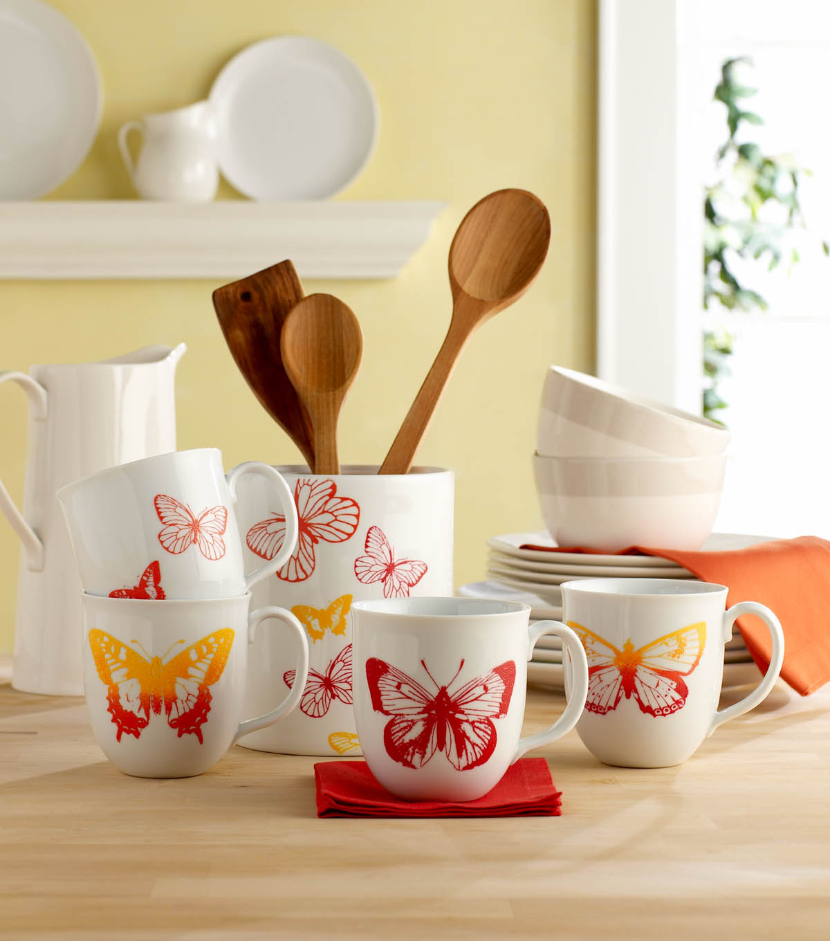 Butterfly Coffee Cups