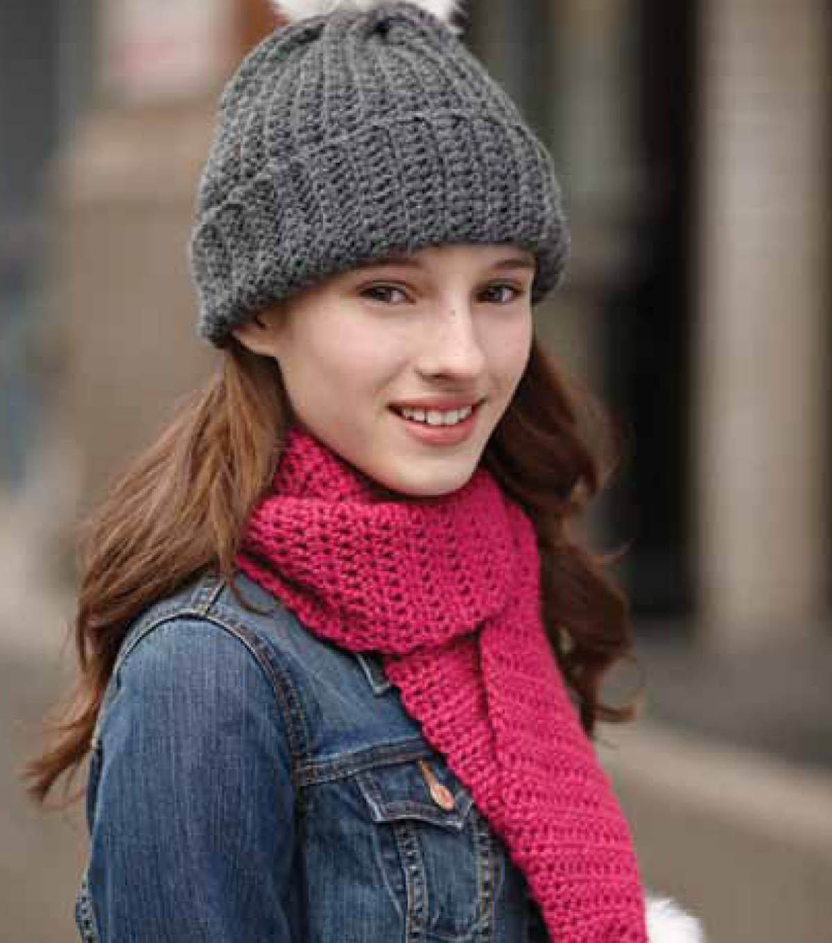 Adult\u0027s Easy Crochet Hat and Scarf