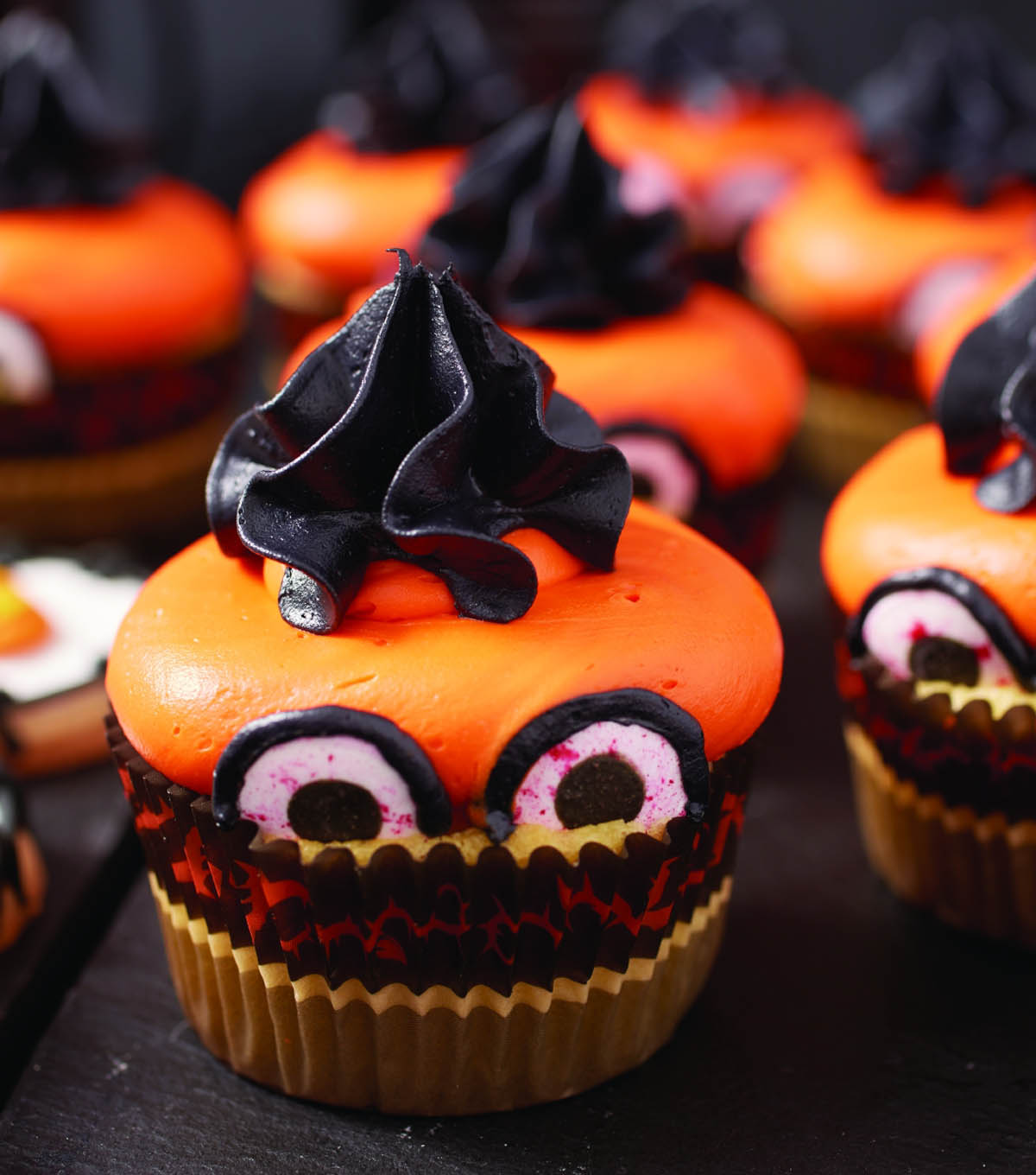 Spooky Eyed Cupcakes