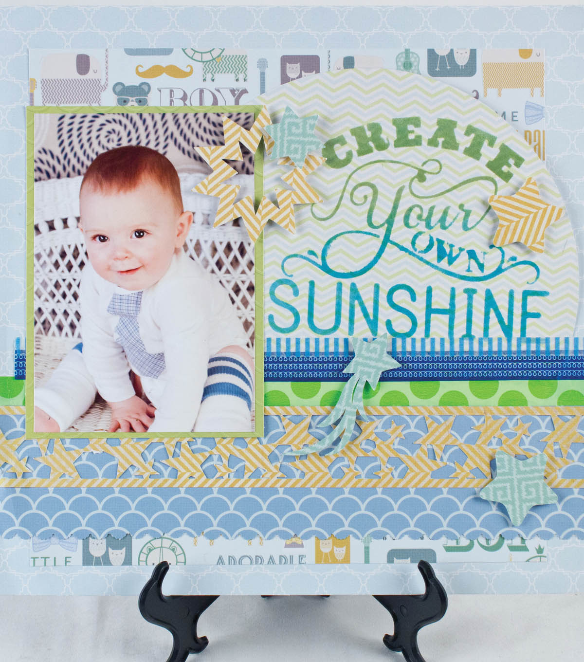 Create Your Own Sunshine Page