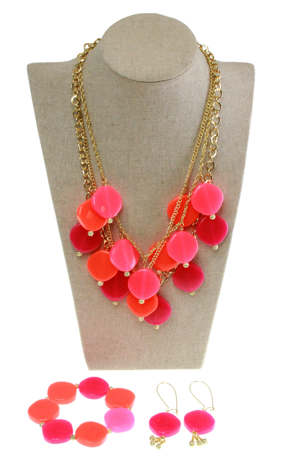 Pop of Pink Jewelry Ensemble