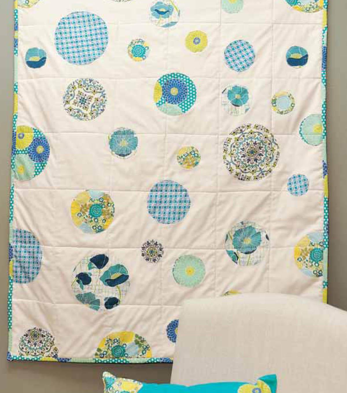 Easy Breezy Circle Quilt | JOANN : easy breezy quilt pattern - Adamdwight.com