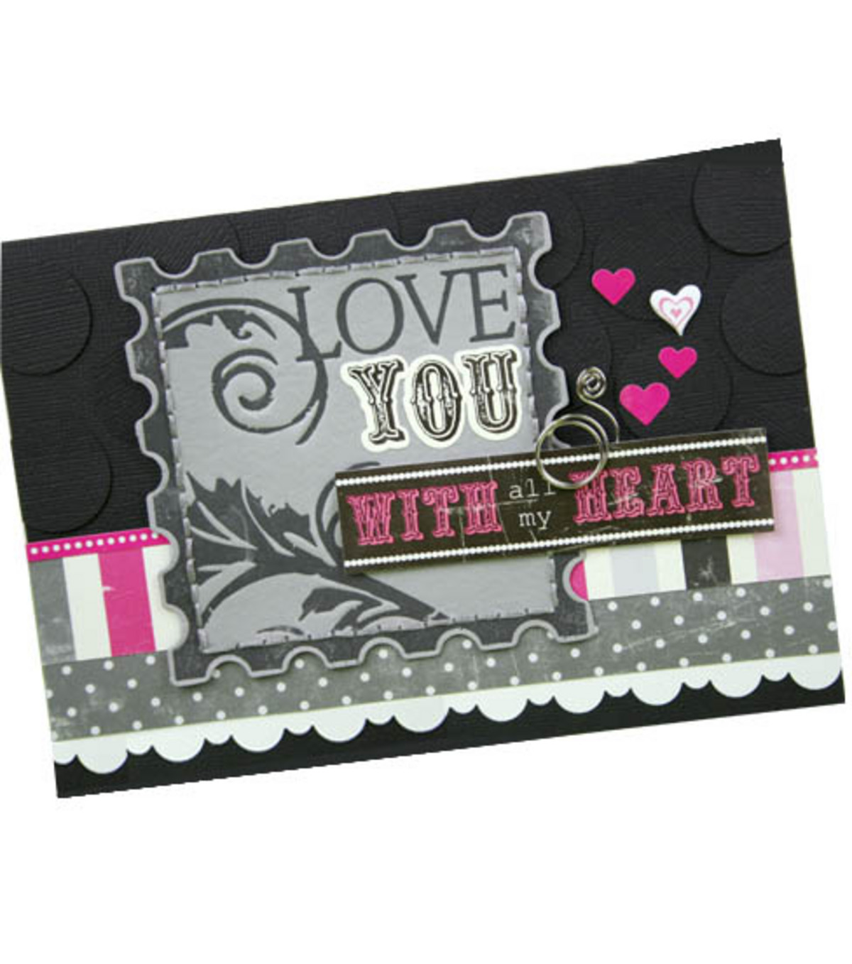 Love Postage Stamp Card