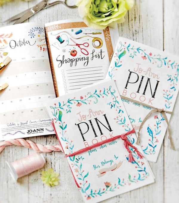 The PIN Book Monthly Planner