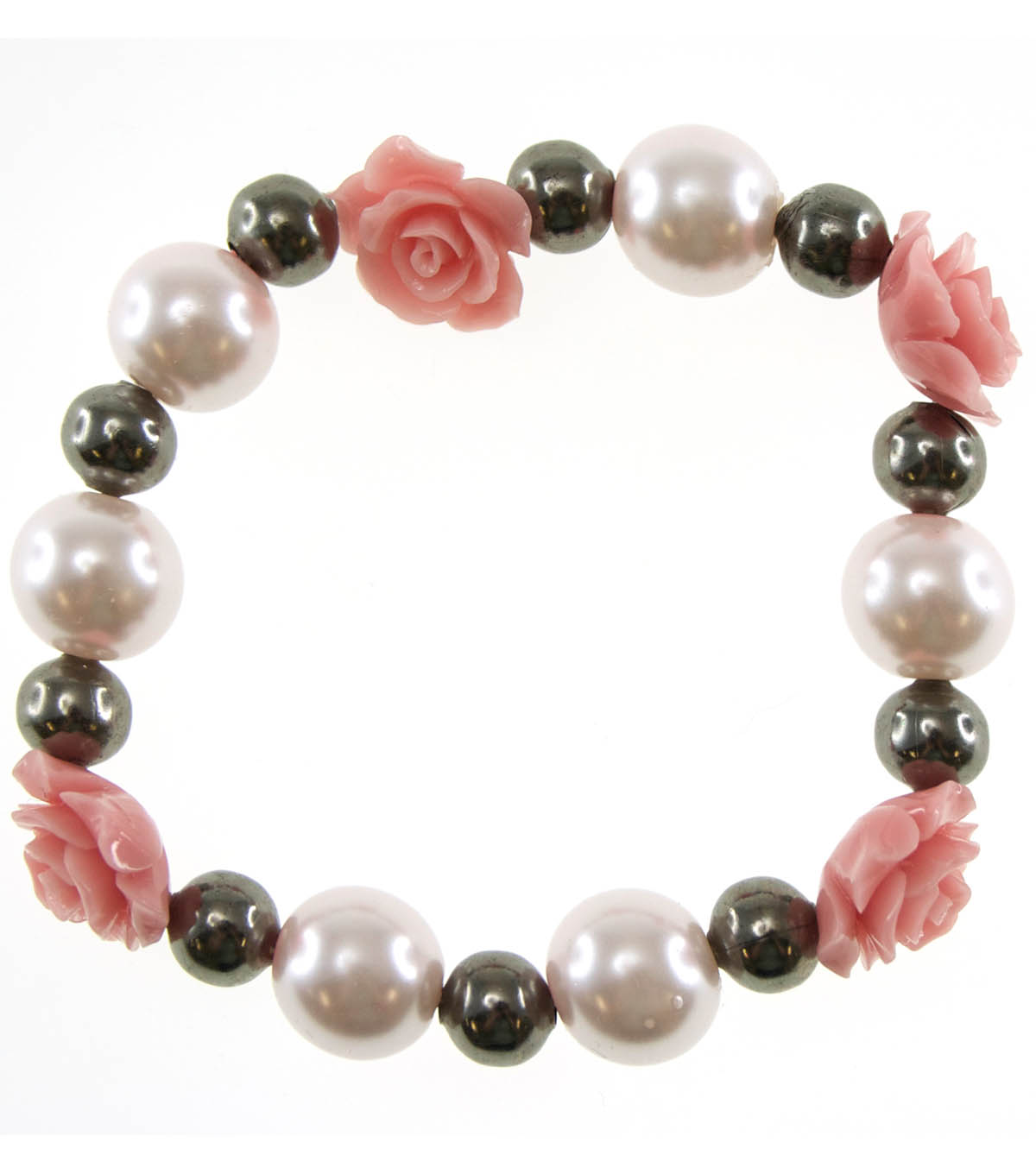 Antique Rose Stretch Bracelet