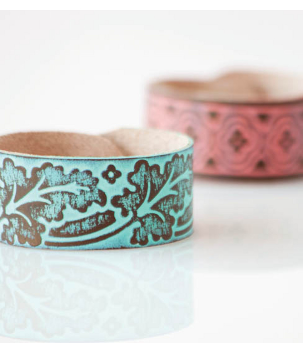 Cuttlebug Leather Cuff