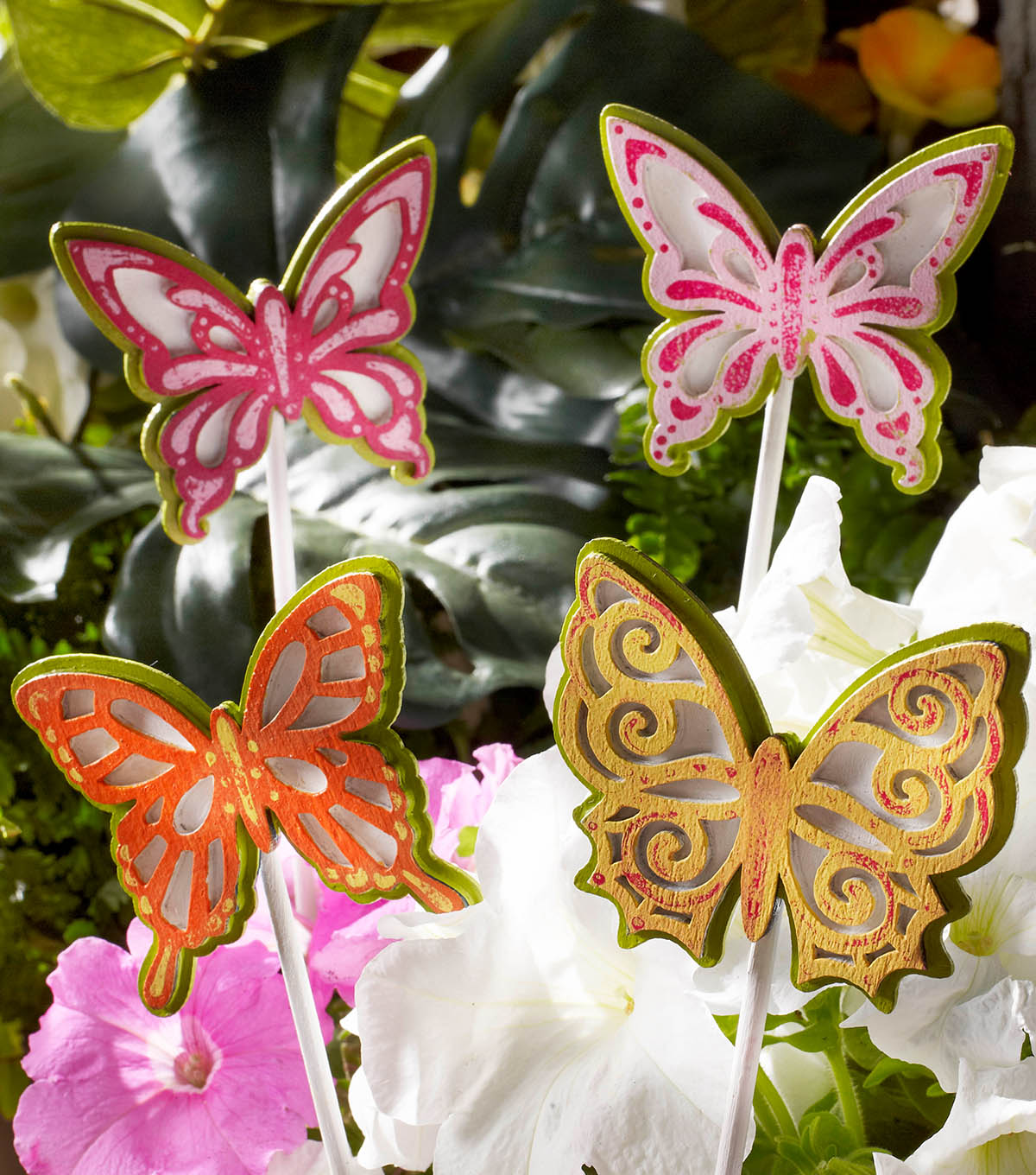 How To Make Butterfly Garden Stakes