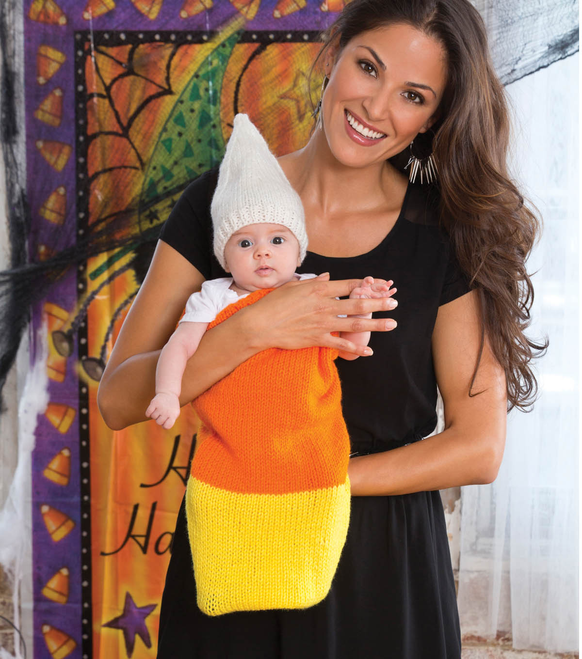 candy corn cocoon and cap - Free Halloween Costume Catalogs