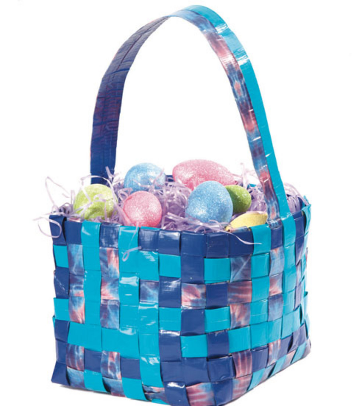 Duct Tape Easter Basket