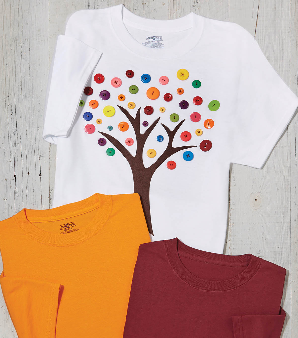 Button Tree T-Shirt